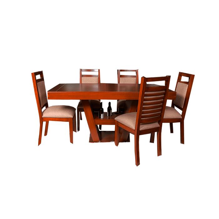 Compra Juego Comedor Mediterráneo 6 Puestos Mueble Cuencano 8955 ...