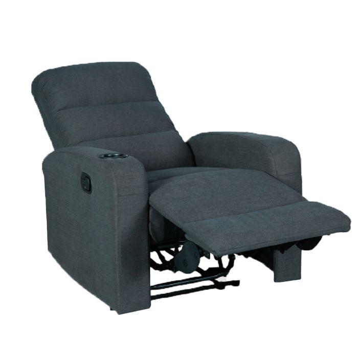 Sillon Reclinable.Compra Sofa Reclinable Srstg002 Hs 6640c 40 Gris Shiva 10773 Marcimex