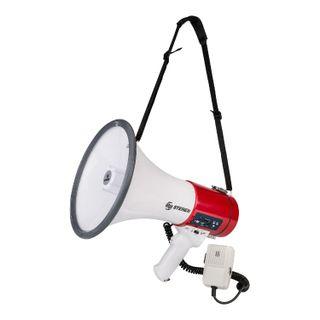 Steren-Megafono-25W-microfono-patrullero
